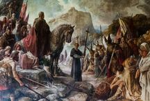 Charlemagne / the Frankish ruler who briefly united Europe