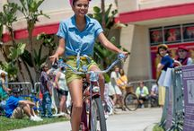 """Stylish by Bike"" contest at 5/3's Bike Fest in Long Beach / On Sat 5/3 from 2:00 pm to 11:00 pm Long Beach will host Bike Fest including the ""Stylish by Bike"" contests. Learn all of the details at: http://www.pedallove.org/events-stylish-by-bike-at-bike-fest-2014/ / by Women On Bikes California"