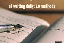 Writing. Language.