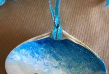 Almejas pintadas