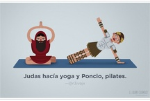 Viñetas de Yoga / El yoga desde la perspectiva del humor.