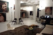 Interiors I Art Studio Spaces / Cool Art Studios I Artists Studio Spaces I Creative Studios I Art Studio Inspiration