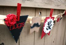 Handmade Banners / Make your own party banners and have a DIY celebration.
