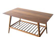 Coffee Table Retro Scandinavia - Meja Tamu Vintage Furniture Jepara Goods