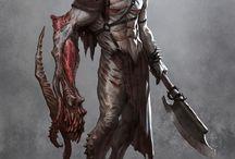 dark fantasy mutants