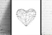 Tatoo heart diamond