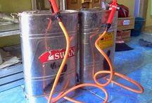 Sprayer Modif Elektrik / Modifikasi alat semprot manual menjadi elektrik