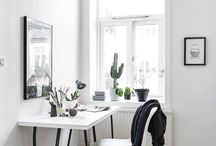 home office / ways to make your workspace your own
