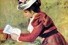 Reading (С книгою ...)+++ / арт о чтении / by Аrina Kalina