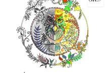 """Pokoloruj swój dzień! / Poznaj magię kolorowanek - to prosty sposób, aby uruchomić wyobraźnię i wyzwolić kreatywność :). Już wkrótce polską premierę będzie mieć książka Królowej Kolorowanek - Johanny Basford, """"Tajemny ogród"""". Zobacz, jak pięknie można ją pokolorować!"""