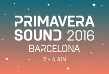 Primavera Sound 2016 / Get ready for #primaverasound 2016! #PrimaveraAllStars