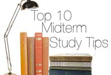 Midterm Study Tips / by Valdosta State University