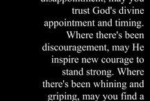 Inspirations / Faith , Positivity & Inspiration
