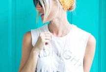 Knotted Scarf Chignon
