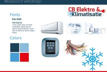 CB Elektro & Klimatisatie / Ontwerp voor website van CB Elektro & Klimatisatie