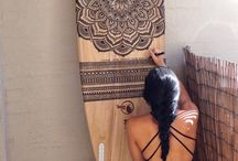 Surfboard Art~DIY