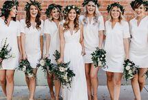White   Wedding Colour Schemes