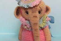 crochet toys - dolls