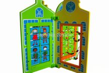 panel stand play equipment