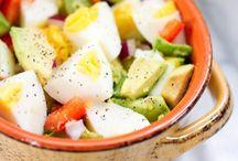 healthy snacks/light meals