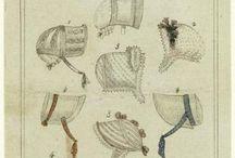 1800's Women's Bonnets