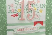 Age cards stampin up