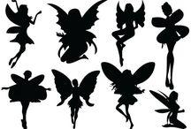 Stencil sort og hvid