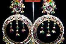 Earrings / Buy new stylish and trend based jewellery online like latest jhumka's and traditional design earrings' from the website of heritage jewelers.  / by Ramneet Kaur
