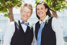 Same sex weddings / A Collection of our favorite wedding photos taken with same sex couples.