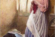 Knitty, knit, knittens / knitting