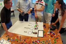Macedonia University workshop / Evaluating an entrepreneur idea. Students from the 4th year of Mechanical Engineering were trained in the use of LSP and Business Model You.