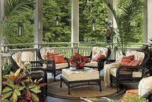 Outdoor rooms / porches, sunrooms, patios