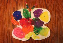 Preschool Crafts--bugs / by Debbie Eudy