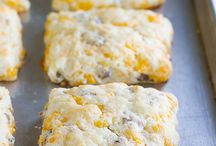 cheese and sosage scones