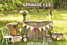 Summer Lemonade Mini Session