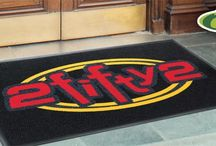 Personalized Mats / Custom Logo Matting ideas for commercial and residential applications.