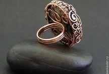 кольца wire wrap