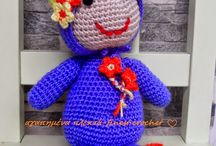 crochet toys / lovely crochet toys