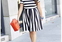 Embrace the curves / Ideas of clothes for curvy women
