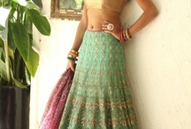 attire / Beautiful dresses n lehengas......