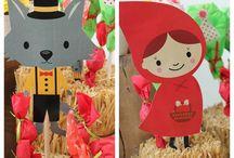 Red Riding hood pinata