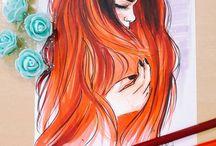 desenhos de garotas
