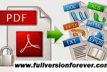 PDF to Office file converter 2015