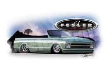 Fesler Built Prints / You like the cars we design well you can now own a cool 11X17 print of each of our builds. www.feslerbuilt.com go to the store and see the Fesler Prints
