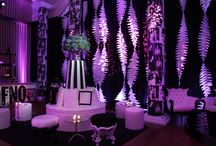 Mood Lighting Inspiration / Mood lighting is so important at any party to help create the right atmosphere as soon as your guests arrive. Simple up lighting, fairy lights, mirror balls and projection lights are all a great way to create a theme, colour scheme or mood you want.