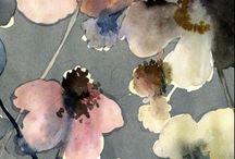 flows watercolor
