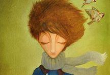 Harry Peter, algo más que lectura. / Publicación dedicada a los amigos de personas con T.E.A (trastorno del espectro autista), Asperger y T.E.L (Trastorno Específico del Lenguaje) Texto e ilustraciones de Elizabeth de Prada