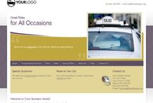 Taxi business website