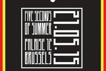 5sos in Brussels