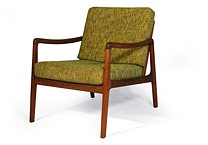 Orange and Brown / The best of mid century modern. Which is to say, stuff we like.